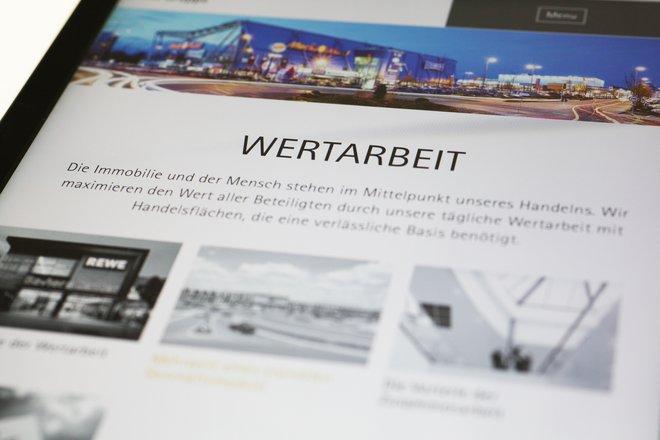 Neue Website der Hahn AG.