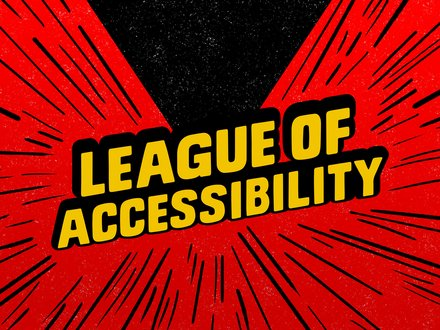 League of Accessibility (LoA) Logo